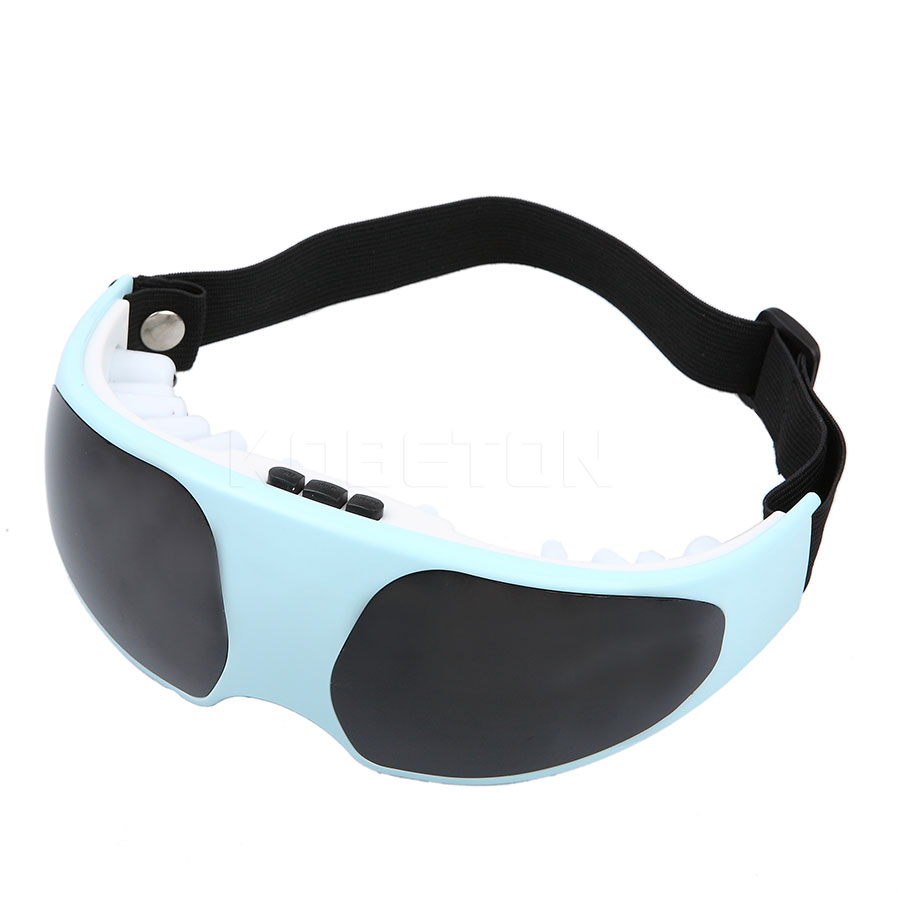 Eye Massager Mask Acupuncture Migraine Massage Electric and Battery Supplied Alleviate Fatigue Relaxation Healthy Care Face Slim(China (Mainland))