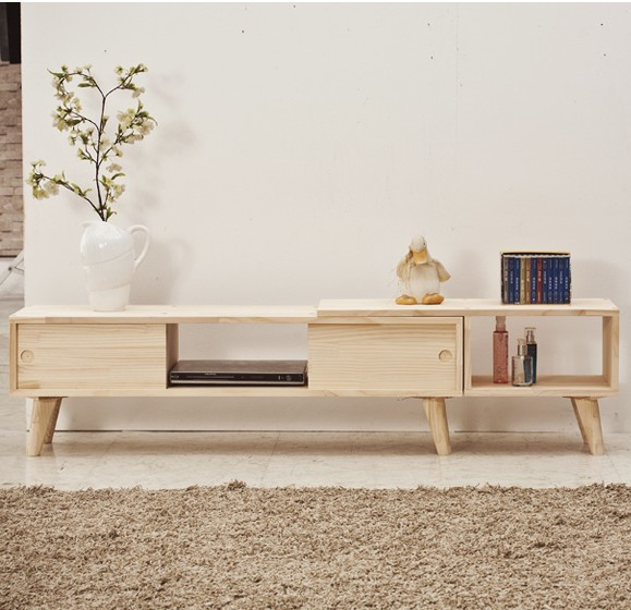 Aliexpress Buy Nordic IKEA Solid Wood TV Cabinet