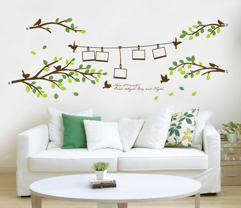 Family Tree Wall Decal Remove Wall Stick Photo Tree Wall