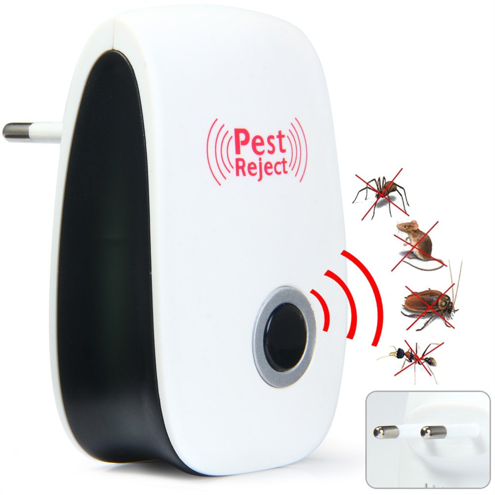 Multi-Purpose Electronic Pest Repeller Ultrasonic Mosquito Rejector for Home Office Cockroach Mosquito Pest Mice Repel 1361129(China (Mainland))