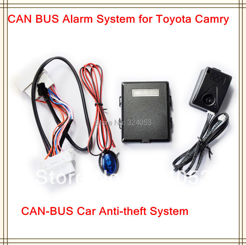 2014 HOT Selling CAN BUS Alarm System Automatically Windows Closed for Toyota Camry Car Alarm Security Tool- Free Shipping(China (Mainland))