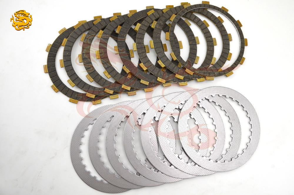 A set friction plates& steel plate Motorcycle parts clutch plates friction discs FOR HONDA CB1300 CB 1300 CB-X4 1300(China (Mainland))