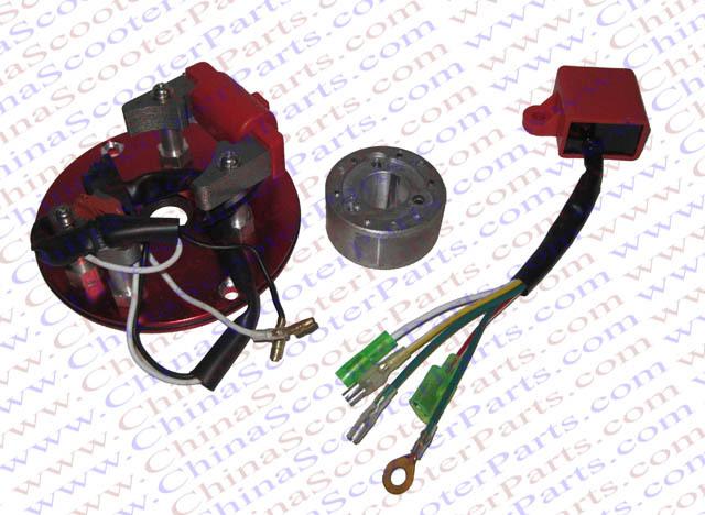 Racing Magneto Inner Rotor Kit Stator CDI XR CRF50 50CC 70CC 90CC 110CC 125CC 140CC Pit Dirt bike ATV Quad Thumpstar Parts(China (Mainland))