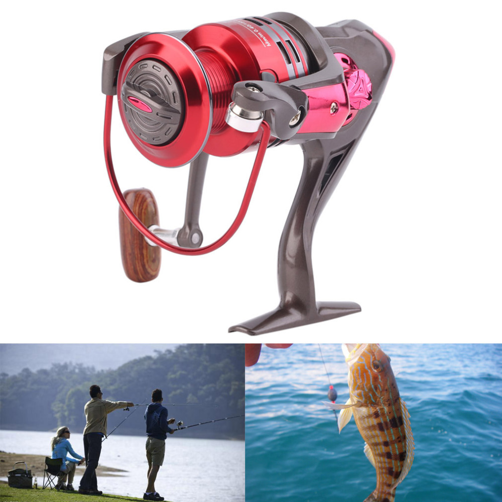 Metal Line Cup Gapless Fly Spinning Fishing Reel Fish Wheel Reels 5:2:1 free shipping<br><br>Aliexpress