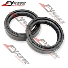 High quality Double spring Motorcycle Front shock absorber oil seal Fork seals 41X53 Free Shipping(China (Mainland))