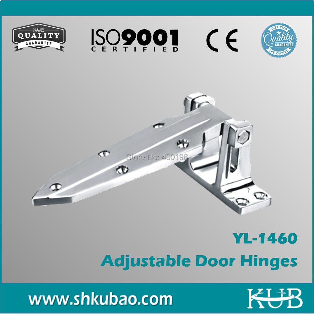 Wholesale Heavy Duty High quality cast zinc adjustable door hinges YL-1460 cold room Door Hinges(China (Mainland))
