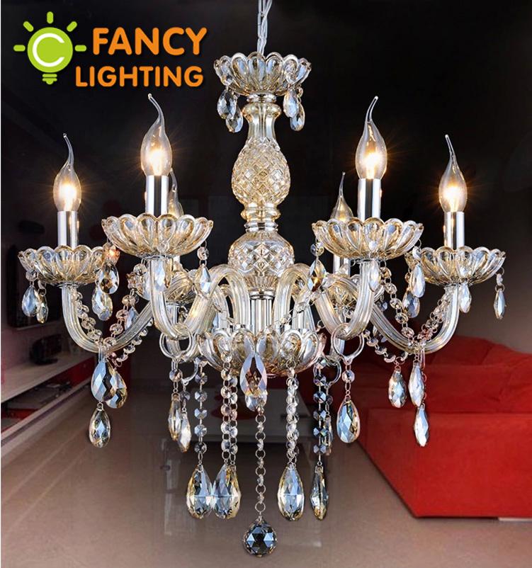 champagne glass crystal modern crystal chandelier e14 110v