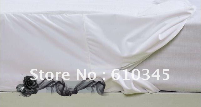 wholesale waterproof Zip Terry Mattress or Box Spring Encasement for bed bug King size(China (Mainland))