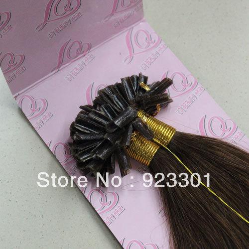Keratin Nail Tip Hair Extensions 121