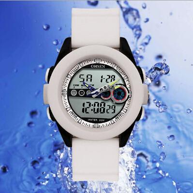 Men luxury watches top brand sport watch waterproof shock resistant led digital rubber bracelet watches for men watch g shock(China (Mainland))