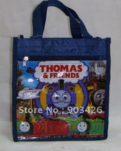 Free shipping! Hot Sale Thomas Train Cartoon Lunch Bag Fashion Shopping Bag G1069 on Sale Wholesale & Drop Shipping(China (Mainland))