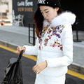 The new winter 2016 women down jacket suit bag mail plus four sizes of cultivate one