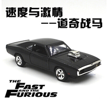 Buy 1970 Dodge Chargers R/T Fast & Furious Car model 1:32 Kids Toy Diecast pull back light sound Mustang Challenger sports car gift for $12.31 in AliExpress store