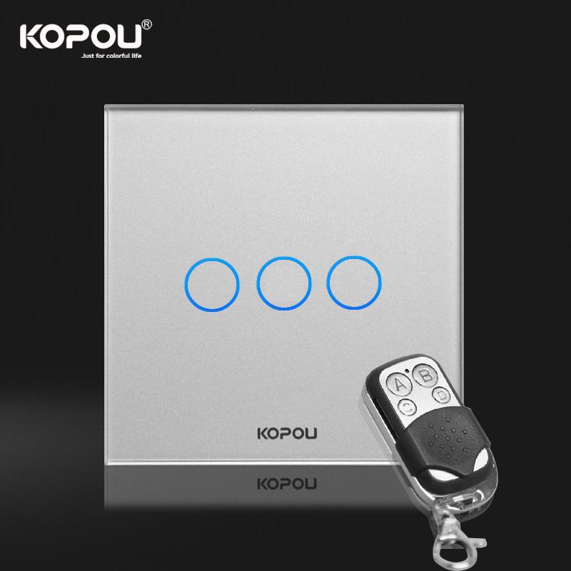 Настенный переключатель KOPOU 3 1 , KTG003-R