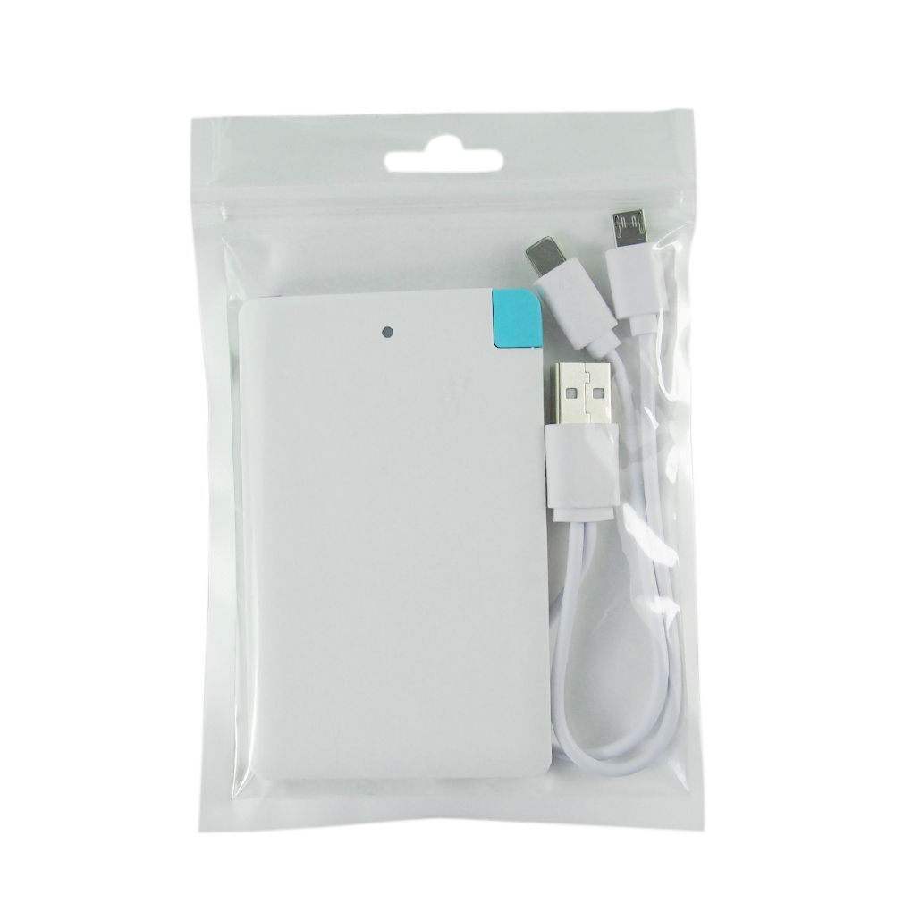White&Black 5600mah About The Cloud Credit Card Power Bank External Battery Charger For iPhone for Android