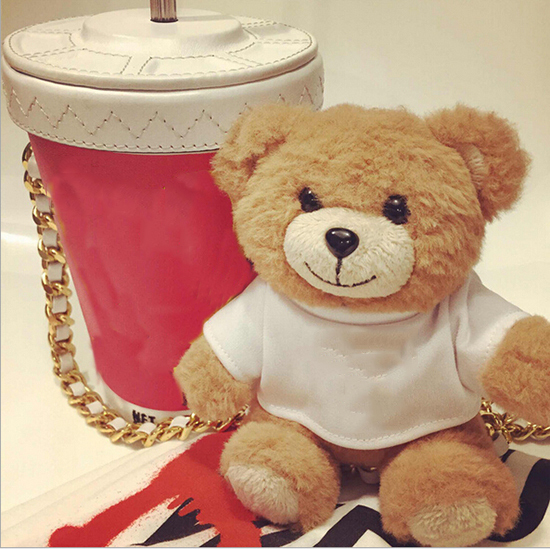 New fashional Cute Bear Power Bank general charger portable mobile power Plush doll ornaments 10000mAh WH0180(China (Mainland))