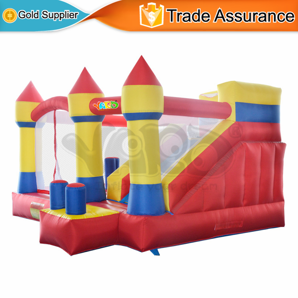 YARD Obstacle Course Inflatable Bouncers Bounce House Jumping Castle with Slide Best Gift for Kids Birthday(China (Mainland))