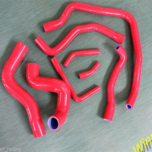 [Car Parts] Winner Racing Radiator&Ancillary Silicone Hose Red For BMW E34 530I 87-91,535I M30 RHD 87-95