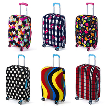 Travel on Road Bag Cover Luggage Cover Protective Suitcase covers Trolley case Travel Luggage Dust covers for 18 to 28 inch(China (Mainland))