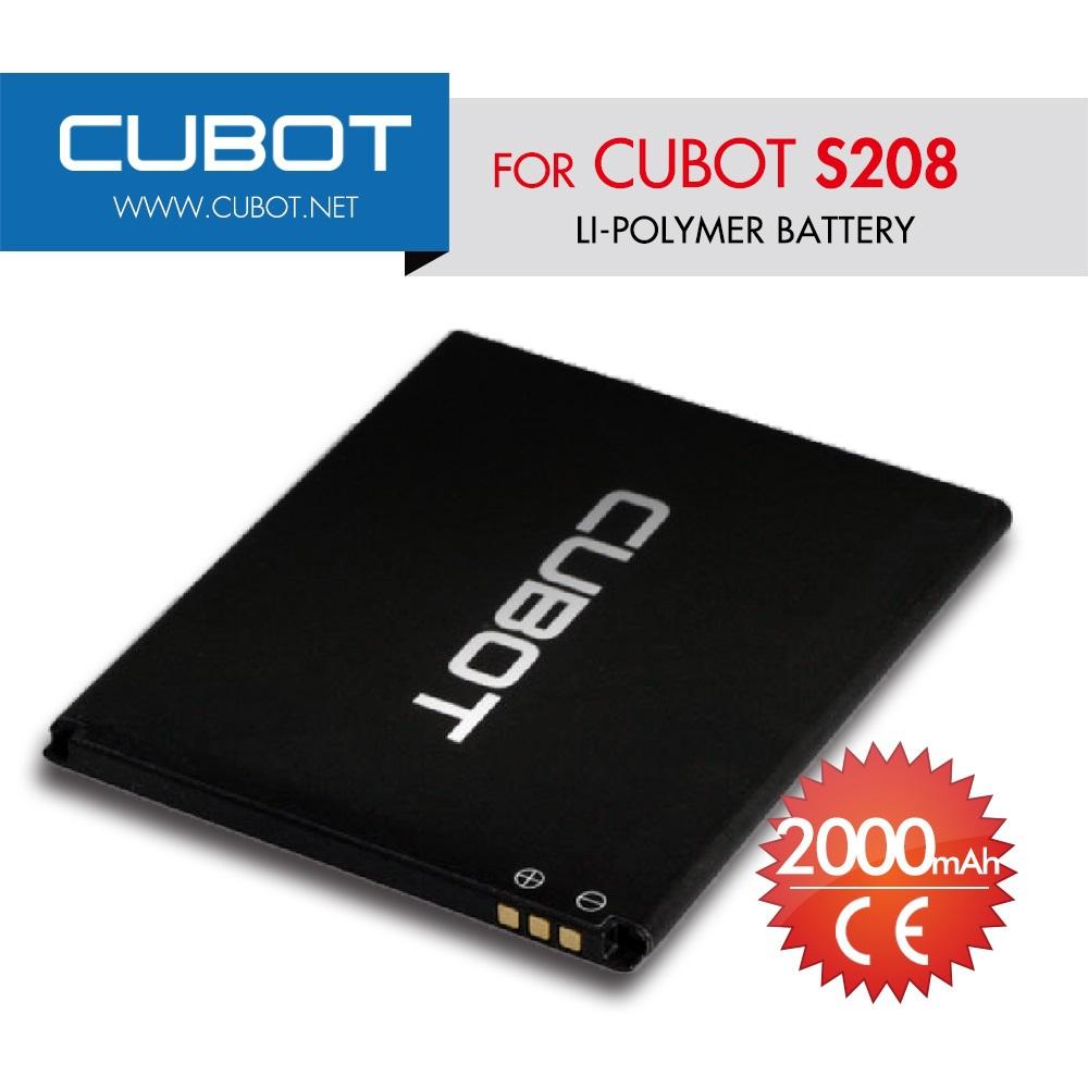 Li Ion Battery 3 7v 2000mah Circuithelp Lithium 37v Cubot S208 Original Mobile Phone Backup For