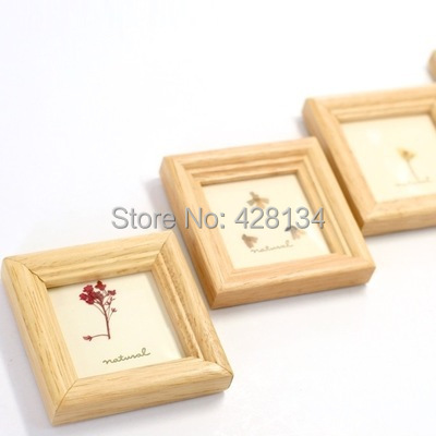 Simple Mini small Wooden Photo Frame (MINI004), thumbnail frames, best gifts children, wedding guests etc. - China TreasureHunt Home Decoration Co. Ltd. store
