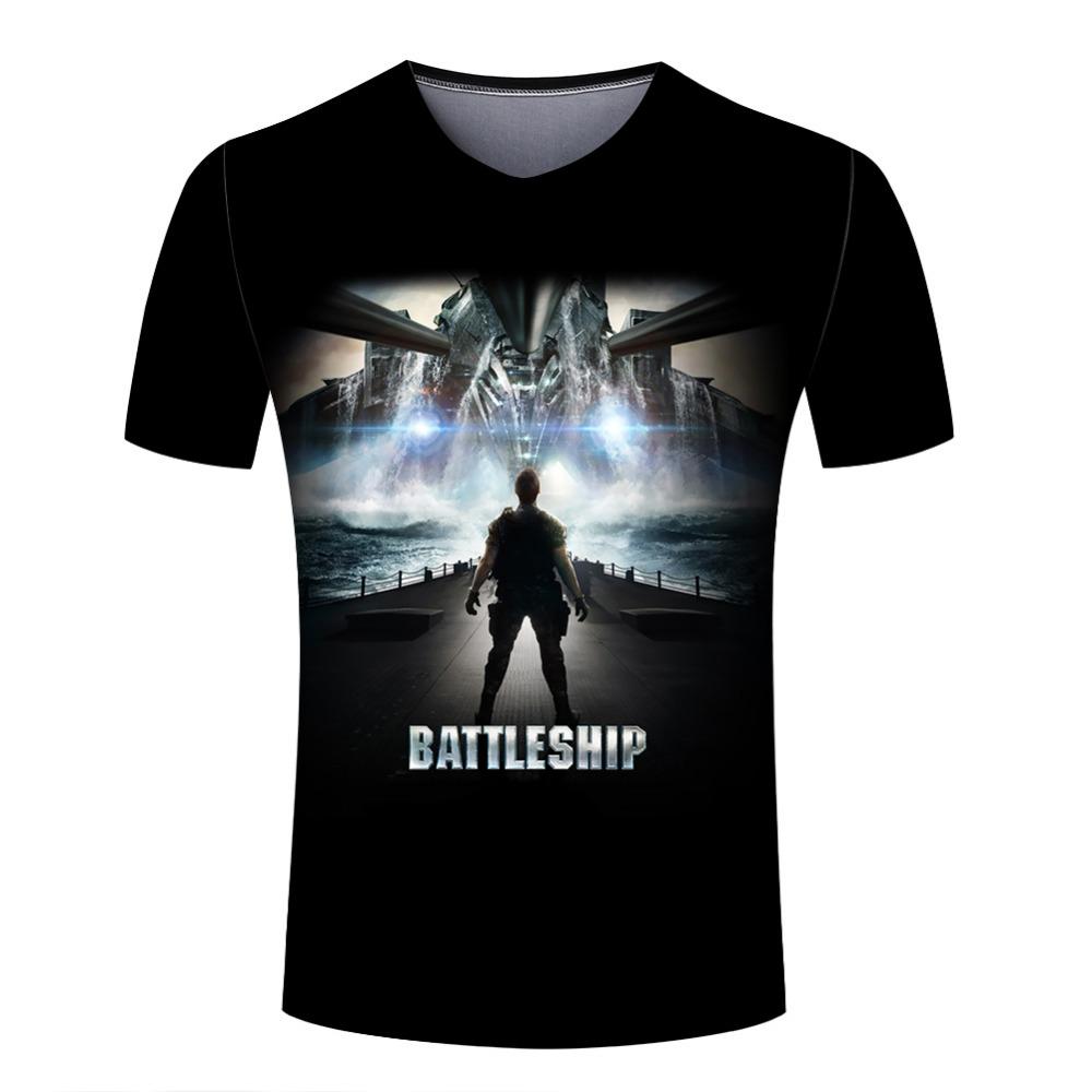 Promotion Products T Shirt Men's Star Wars T-shirts New Designer Hiphop Clothes Black Color V Neck tees camiseta(China (Mainland))