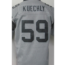 hot sale 1# Cam Newton High quality #59 Luke Kuechly 100% Stitched Logos Gray Gridiron Gray Limited Jersey Free shipping(China (Mainland))