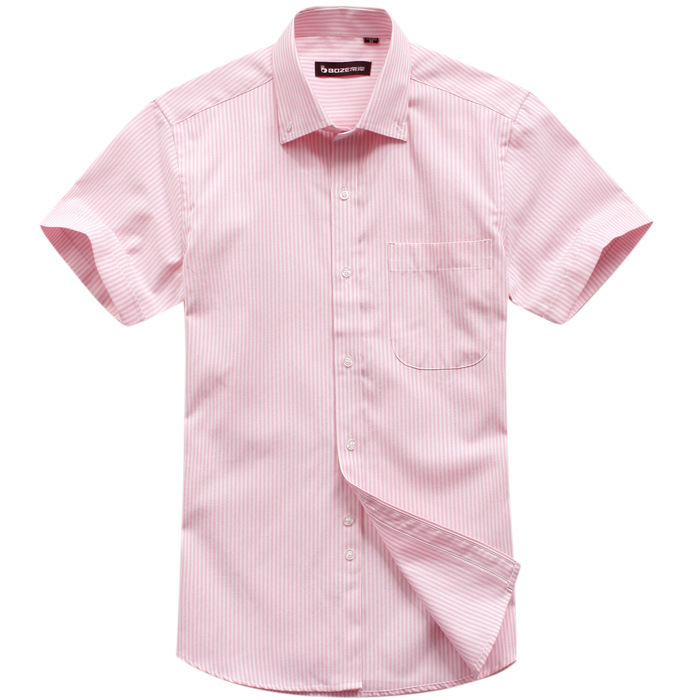 Pink Dress Shirts for Men at Macy's come in a variety of styles and sizes. Shop top brands for Men's Dress Shirts and find the perfect fit today. Short Sleeve (1) Shirt Features Tommy Hilfiger Men's Classic/Regular Fit Non-Iron Stretch Pink Check Dress Shirt.