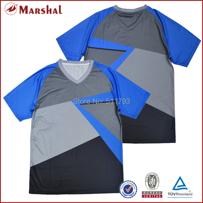 Sublimation printed high quality 100% made in thailand quality football uniform(China (Mainland))
