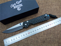 KESIWO Carbon Fibber Folding knife Large Sebenza D2 blade camping hunting outdoor survival knife Utility pocket