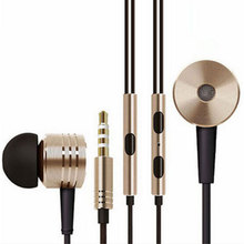 Metal 3.5mm Xiaomi Headphone Universal Earphone Noise Cancelling In-Ear Headset earphone For Xiaomi Samsung HTC iphone MP3 MP4