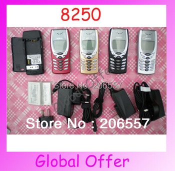 8250 Original Unlocked NOKIA 8250 mobile phone Dualband Classic Cheap Cell phone 1 year warranty Free S/H
