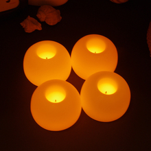 5pcs/lot Creative Round ball LED Candle Lamp High Quality Mini Electronic Candle Light for Valentine's Day Decoration Gift(China (Mainland))