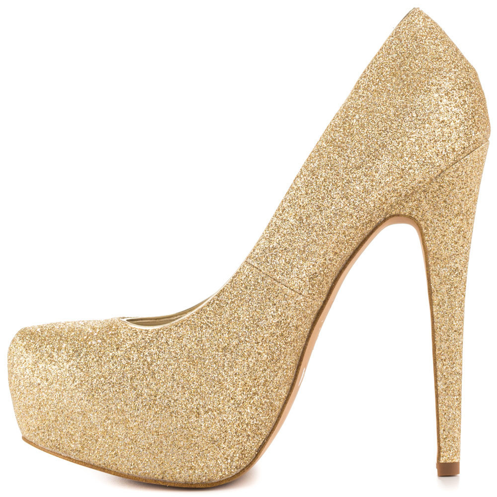 Gold Heels For Women - Is Heel
