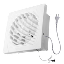 240x240mm 8inch 30w exhaust fan ventilation blower window wall kitchen bathroom toilet 220v us plug
