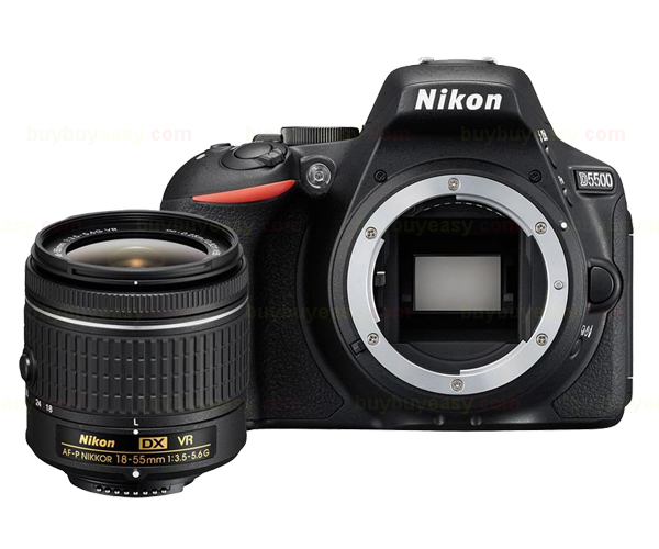 New Nikon D5500 Digital SLR Camera Body & AF-P DX 18-55mm f/3.5-5.6G VR Lens(Hong Kong)