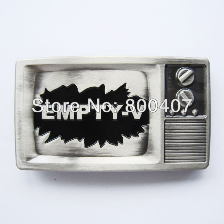 Retail Distribute EMPTY-V TV Belt Buckle BUCKLE-T038 Free Shipping(China (Mainland))