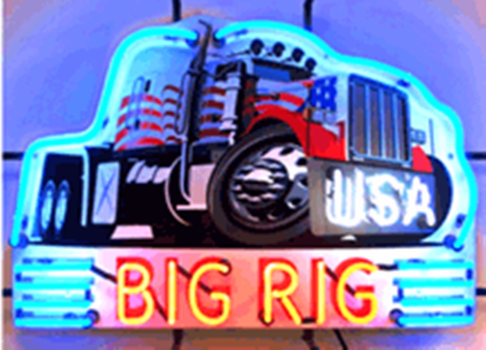 """Big Rig Truck Real Glass Tube neon sign Beer Pub Club Handcrafted Automotive signs Shop Store Business Signboard signage 17""""x14""""(China (Mainland))"""