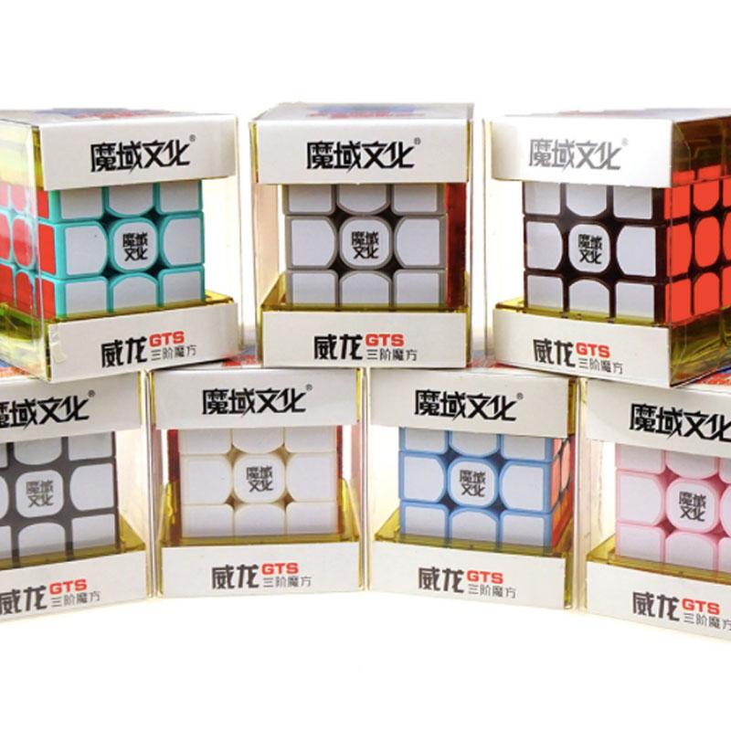 NEW MoYu 3x3x3 Weilong GTS Speed Magic Cube Puzzle YJ8240 56mm(China (Mainland))