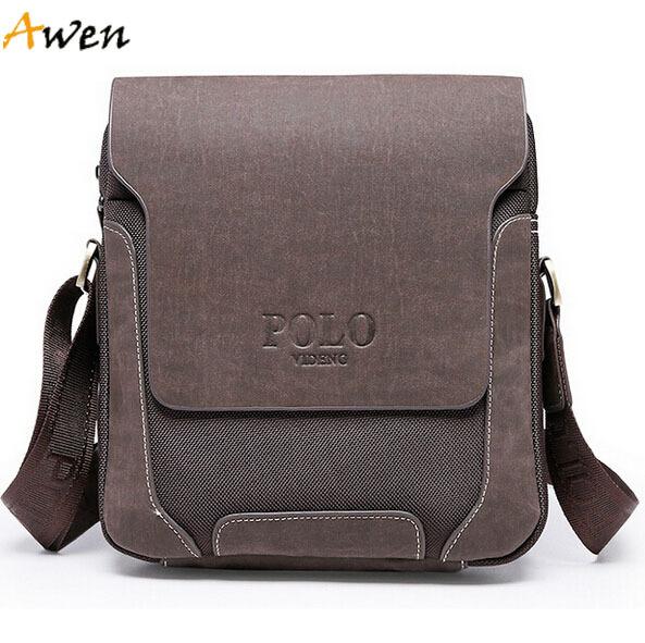 Awen-hot sell new fashion famous brand genuine leather men messenger bags,vintage retro oxford man bag,desigual men travel bags(China (Mainland))