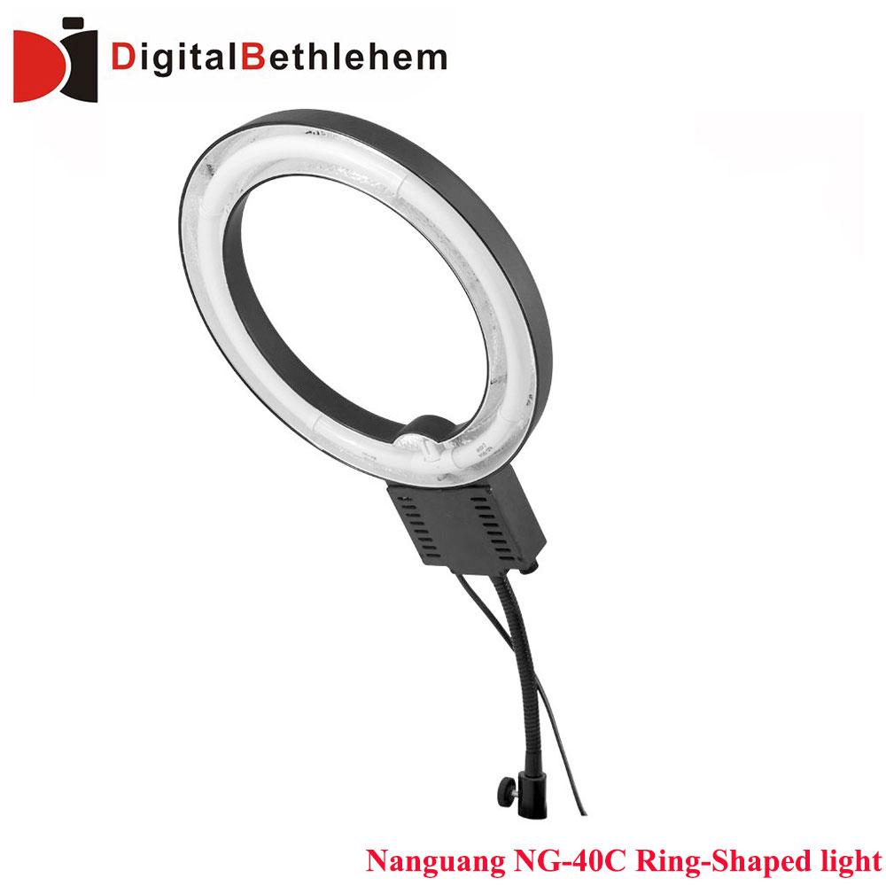 Nanguang NG-40C Ring-Shaped 40W 3166lm 5400K Macro Photography Light Circle Ring Light free shipping