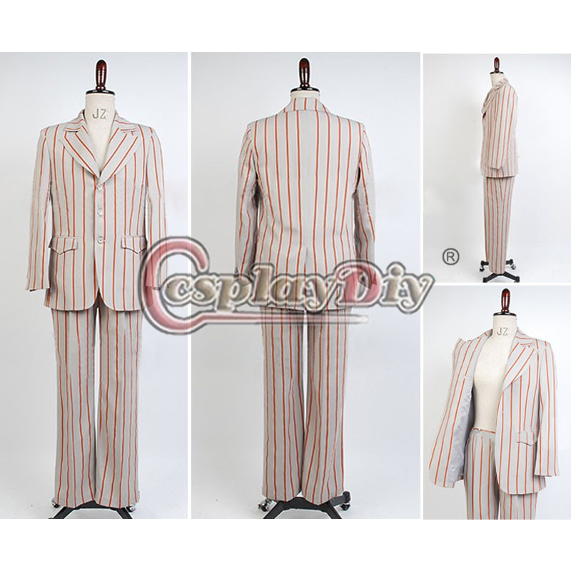 Custom Made The Beatles Costume Stripes Suit At Shea Stadium Jacket Outfit Adult Men Cosplay Costume For Dance Party D0427Одежда и ак�е��уары<br><br><br>Aliexpress