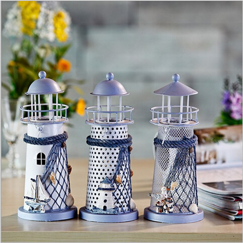 Newest Colorful Metal Candlestick Electric Candle Holder