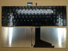 New keyboard for Toshiba Satellite S55D S55 S855 S50 L50 L50-A S55A C75 L70 L75D keyboard US Layout with backlight