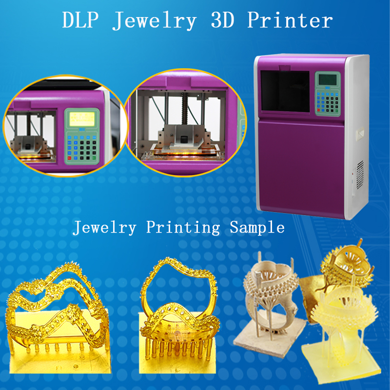 Self developing 3d wax and resin printer jewelry wax dlp for 3d wax printer for jewelry