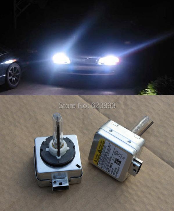 Free shipping, 2x Xenon HEADLIGHT HID D1r / D1s 35W BULB HEAD LIGHT LAMP Replacement For BMW E60 E65 E90 E92 X5(China (Mainland))