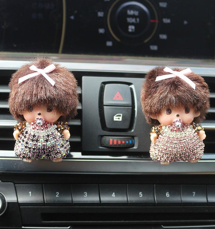 Гаджет  2015 NEW Meng Qiqi Car perfume Lovely Car air cleaner High grade air conditioning Tuyere Perfume Free shipping  None Автомобили и Мотоциклы