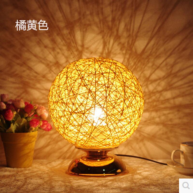 achetez en gros corde lampe de table en ligne des. Black Bedroom Furniture Sets. Home Design Ideas