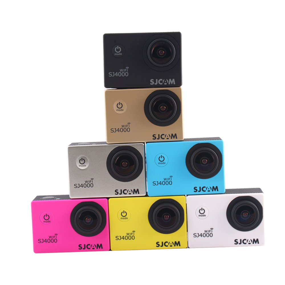 Spain Stock Original SJCAM SJ4000 WiFi 1080P Full HD Extreme Sport DV Action Camera Diving