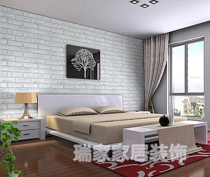 Compra murales de piedra de la pared online al por mayor - Papel pared autoadhesivo ...